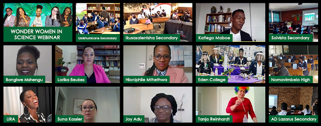 Wonder Women in Science Virtual Event a Resounding Success