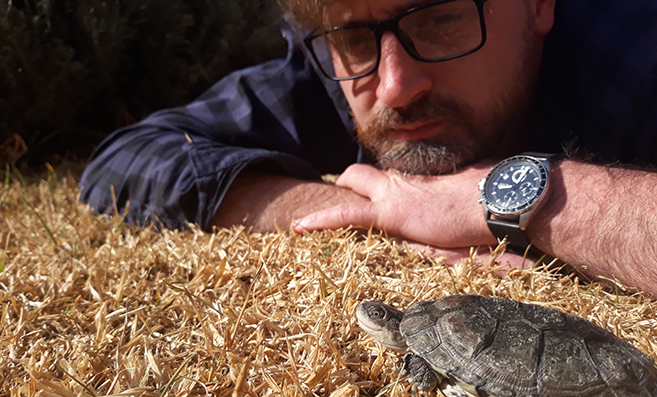 Childhood Interest in Reptiles Progresses into Doctoral Degree